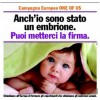 Campagna internazionale &#8220;Uno di noi&#8221;