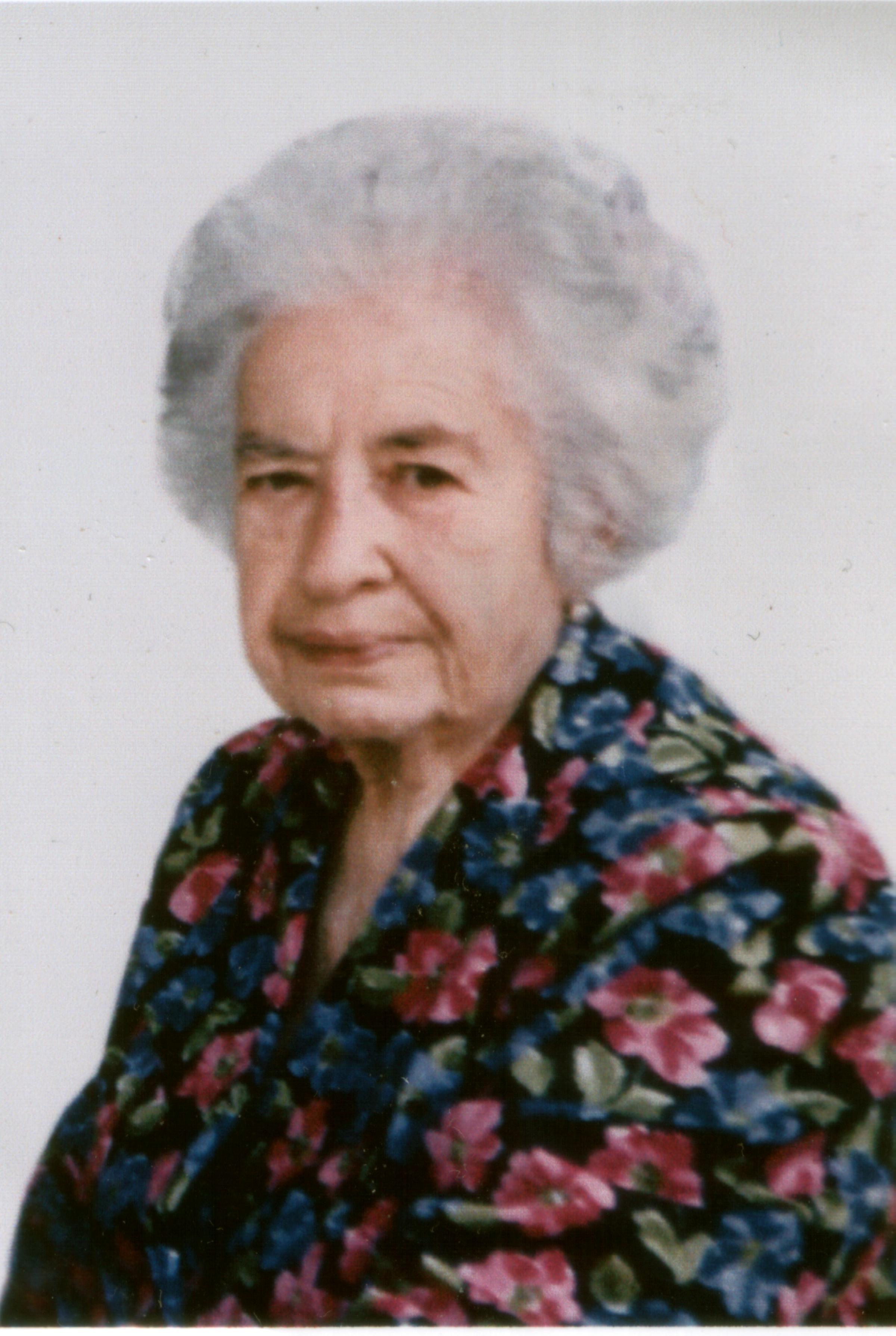 Un saluto alla carissima Giovannina De Nicolo (1911-2006)