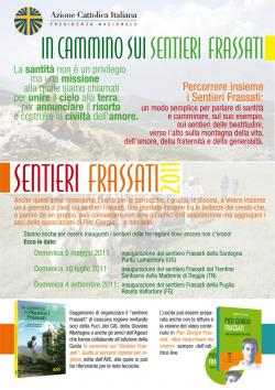 Sentieri Frassati 2011