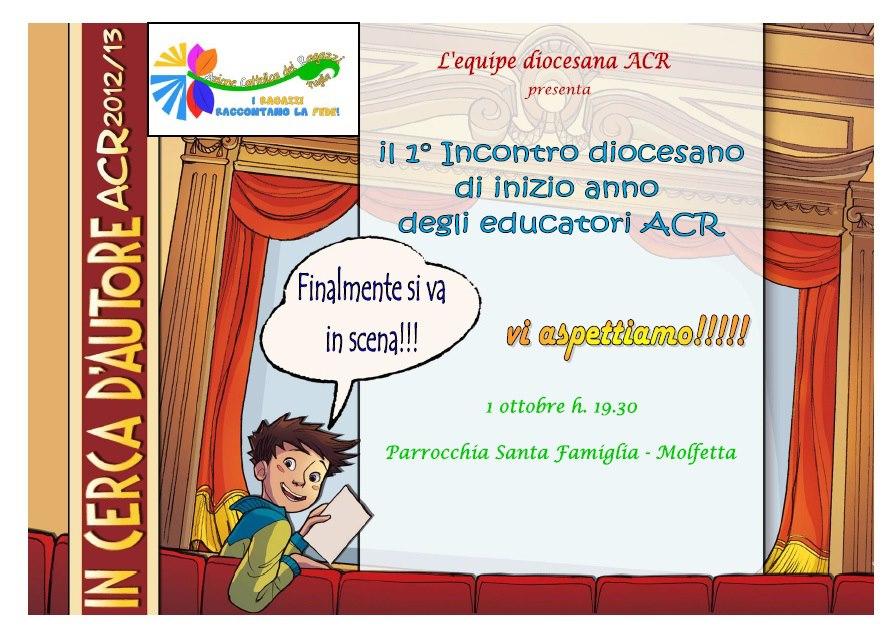 1° incontro diocesano degli educatori ACR