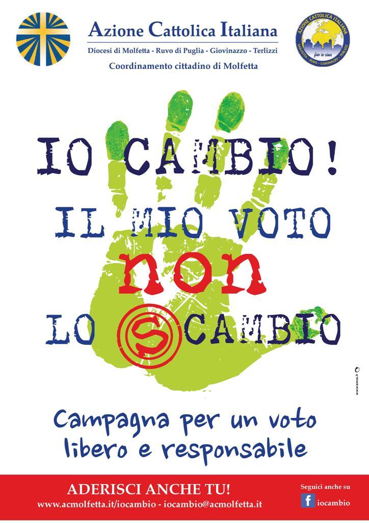 Io CAMBIO... Il mio voto non lo sCAMBIO