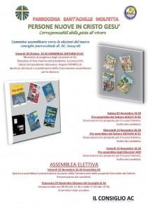 Sant'Achille Molfetta – PERSONE NUOVE IN CRISTO GESU'