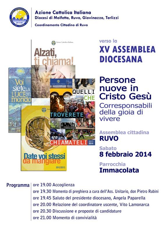 Ruvo di Puglia – Assemblea cittadina