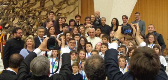 L'Ac in udienza da Papa Francesco
