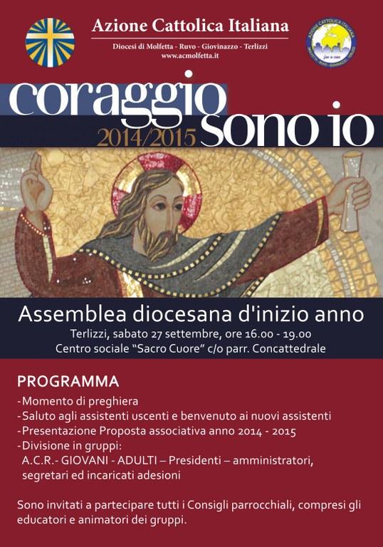Assemblea Diocesana di Inizio Anno Associativo
