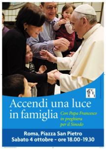 Accendi una Luce in Famiglia @ Madonna della Pace | Molfetta | Puglia | Italia
