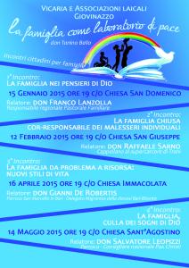 La famiglia come laboratorio di Pace @ Parrocchia Sant'Agostino | Giovinazzo | Puglia | Italia