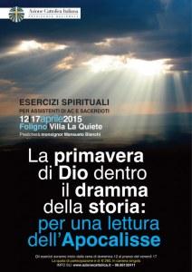 Corso nazionale di Esercizi Spirituali - dal 12 al 17 Aprile - Foligno @ Foligno | Foligno | Umbria | Italia