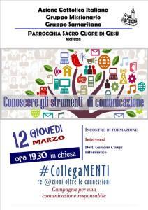 Conoscere gli strumenti di comunicazione @ Parrocchia Sacro Cuore, Molfetta | Molfetta | BA | Italia