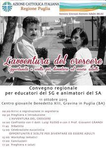 SG/SA - Convegno regionale per educatori