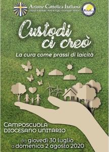 Campo diocesano Unitario - CUSTODI CI CREÒ La cura come prassi di laicità