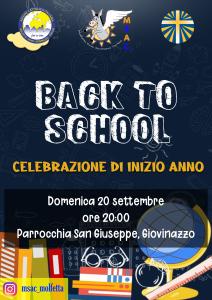 Back to School - Celebrazione di inizio anno